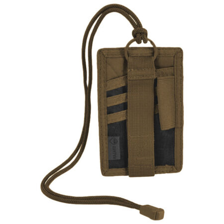 img-HAZARD 4 BADGER PATCH BADGE ORGANISER NYLON ARMY SURVIVAL TACTICAL COYOTE
