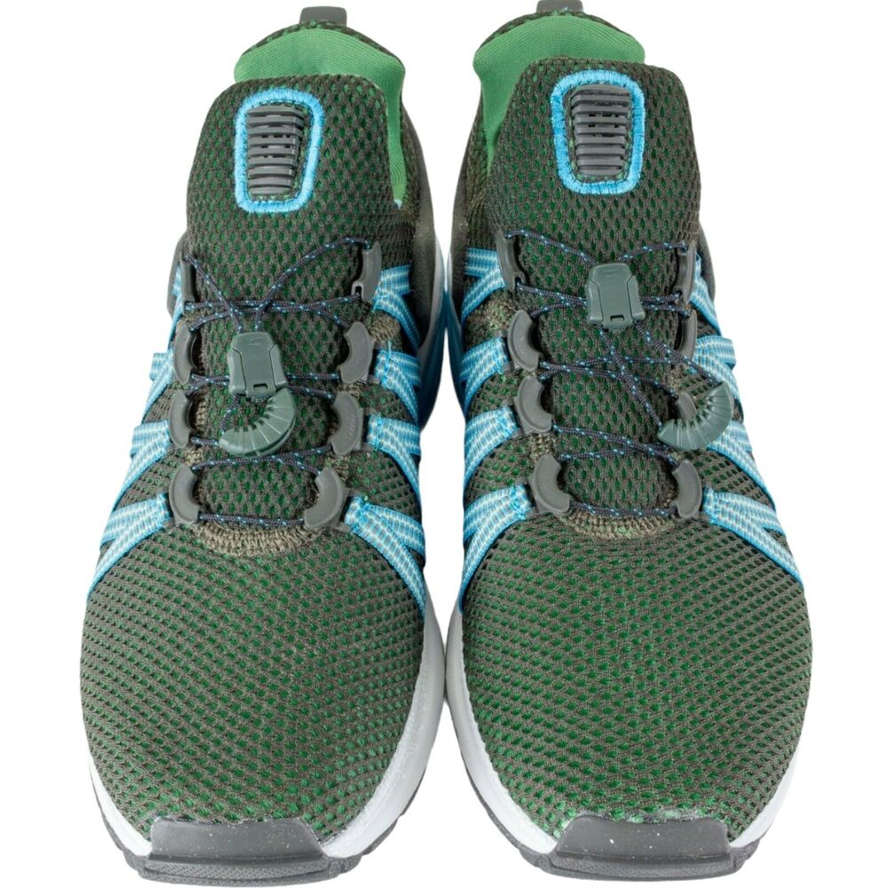 watch d9788 5afaf Details about Nike Shox Gravity Men s Shoes Sequoia Green Blue White AR1999  300 Lifestyle New
