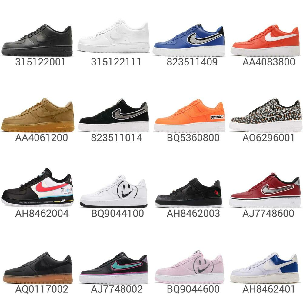 reputable site 05980 5ad24 Nike Air Force 1 07 LV8 AF1 One Low QS Men Sneakers Shoes Pick 1   eBay
