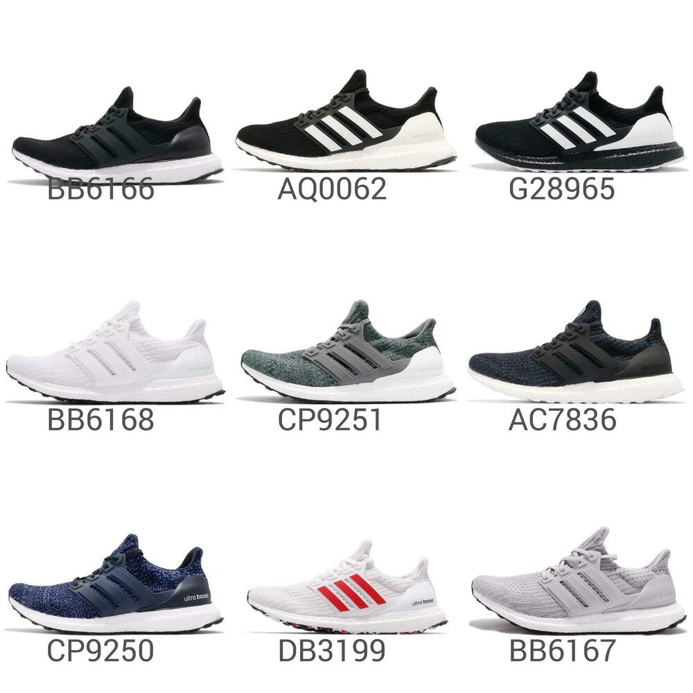 7761764a2 adidas UltraBOOST 4.0 Mens Cushion Running Shoes BOOST Sneakers Pick ...