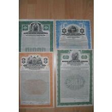LOT: 4 German / USA Dollar Bonds