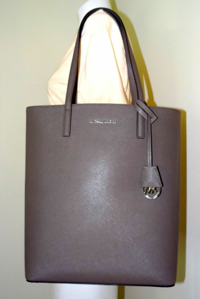 d1a50c26ae68ca Details about Michael Michael Kors Hayley Cinder Large Convertible Tote Bag