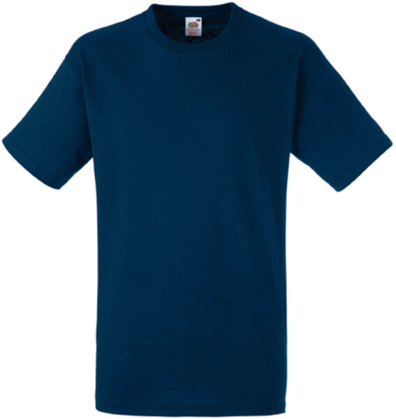Lot de 5  tee-shirt HEAVY-T Fruit Of The Loom navy 185gr - SC61212
