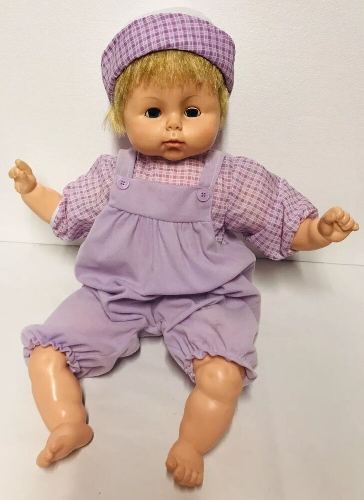 Vintage Horsman Baby Doll Large 21 Blonde Blue Sleep Eyes
