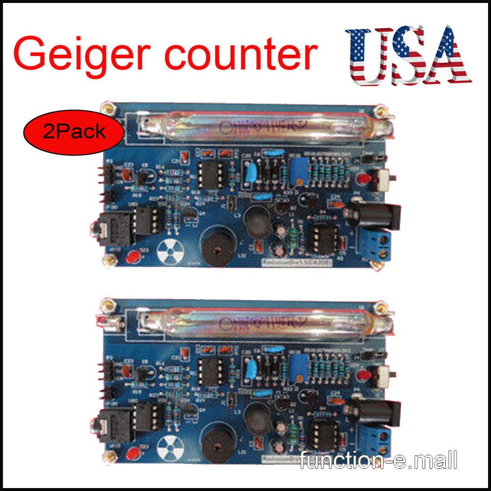 2xassembled Diy Geiger Counter Kit Nuclear Radiation Detector Beta Circuit Gamma Ray Us 870884777899 Ebay