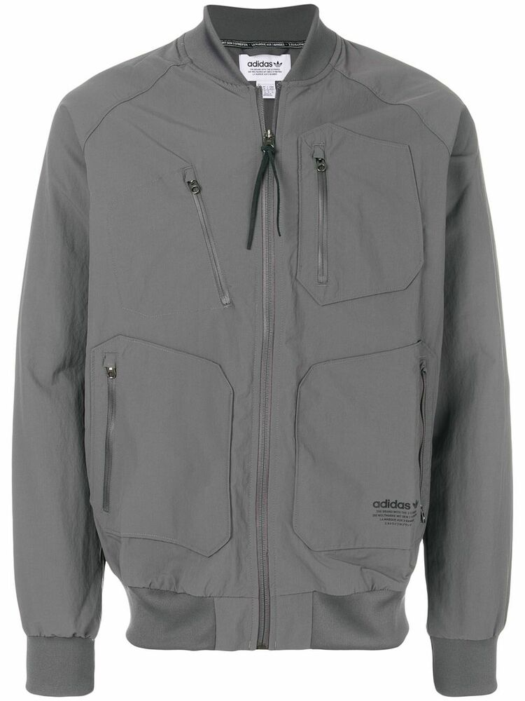 8abd0e3965293 Details about Adidas Originals NMD Urban Track top Full Zip Jacket - BS2515  - Grey - RRP £90