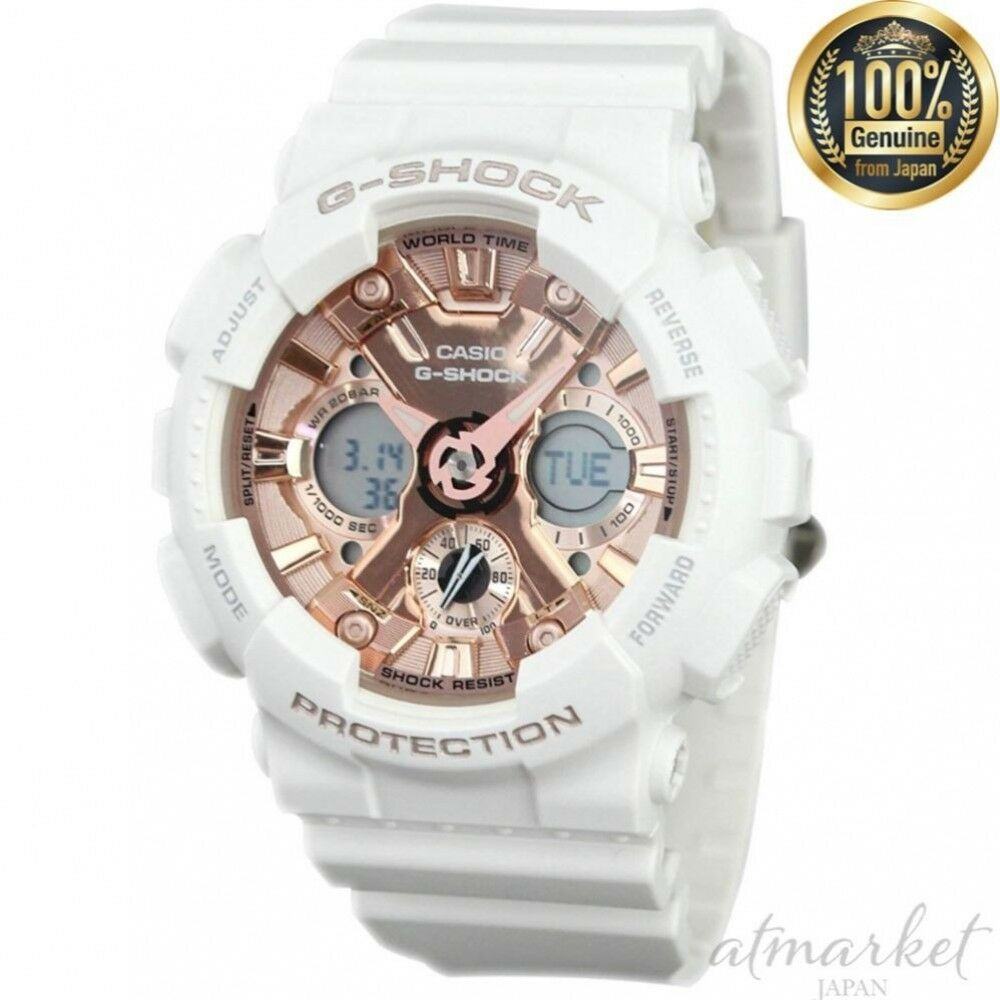 6f092b3bb65 Details about NEW CASIO Watch G-SHOCK WHITE GMA-S120MF-7A2 Men s in Box  genuine from JAPAN