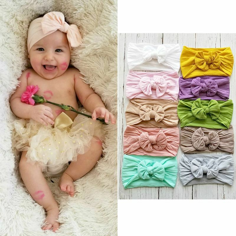 Latest Collection Of Baby Girl Knotted Head Band Clothing, Shoes & Accessories Hair Accessories