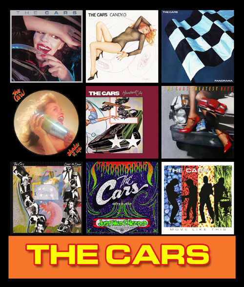 """THE CARS Album Cover Discography Magnet (3"""" X 4.5"""") Candy"""