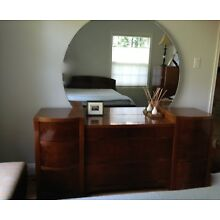 Art Deco Style Bedroom set Full size bed
