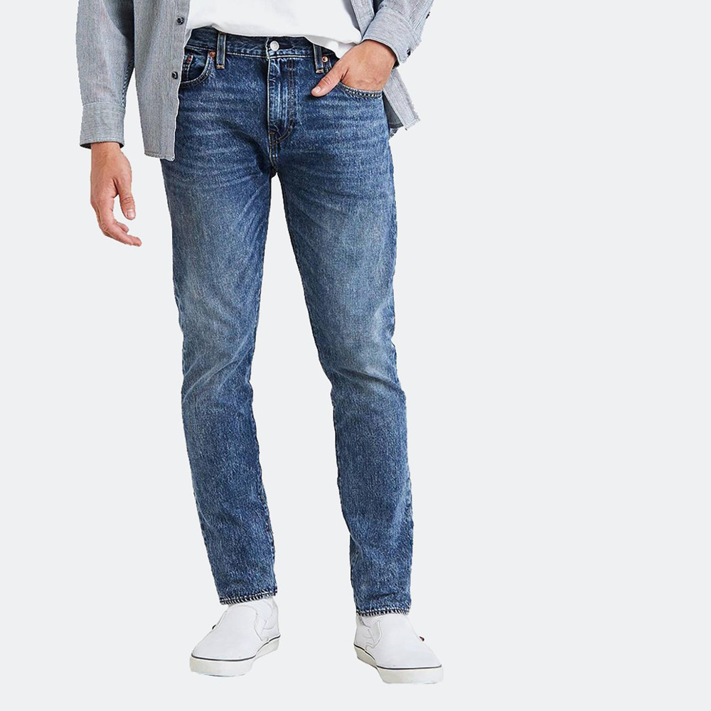 8701d8dfd36 Details about Genuine LEVIS PREMIUM 512 Slim Taper Fit Stretch Mens Jeans  Blue Dewdrops