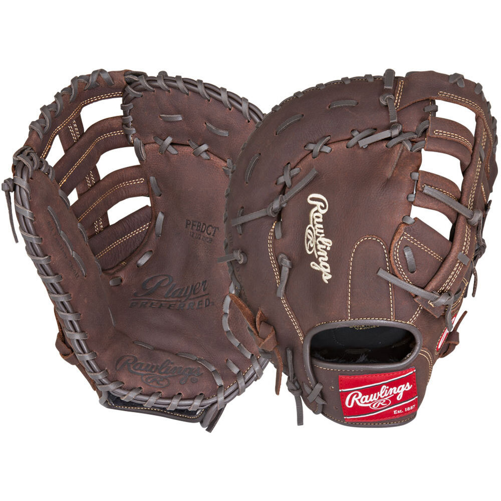 "Rawlings Player Preferred 12.5"" First Base Glove Single"