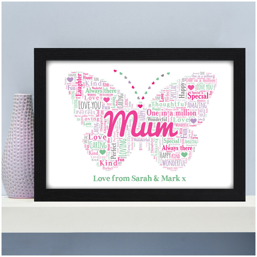 Details About Personalised Mum Mummy Nanny Nan Granny Gifts For Mothers Day Birthday Her She