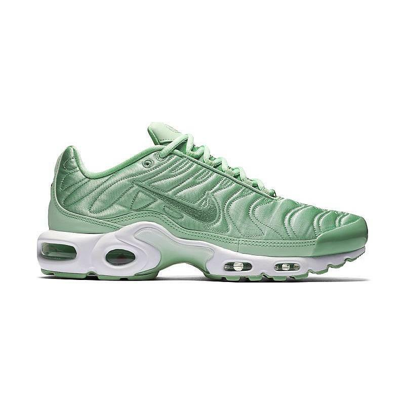 bf0a2e71bdc1 Details about Women s Nike Air Max Plus SATIN PACK GREEN MINT ENAMEL TUNED  830768-331 sz 8.5