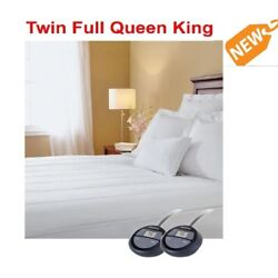 Sunbeam Electric Heated Mattress Pad Quilted Warming Winter King Queen Full Twin