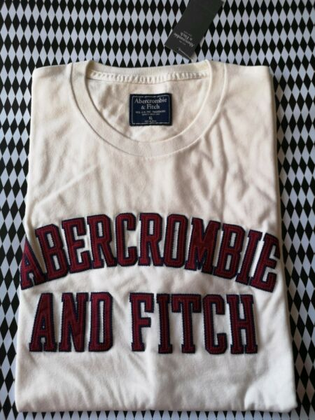 ABERCROMBIE AND FITCH MENS TSHIRT XL RRP 32.00 £ OR 40.00 €