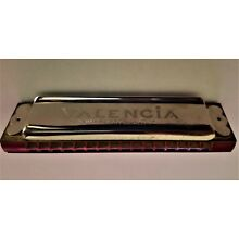 VALENCIA HARMONICA Made in Germany-US Zone   Good/ Fair Vintage Condition