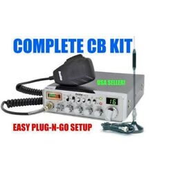 Kyпить COMPLETE CB RADIO KIT ANTENNA CABLE MAGNET MOUNT COBRA UNIDEN ROADKING GALAXY 40 на еВаy.соm