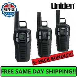 Kyпить UNIDEN Long Range 3-pack Rechargeable Two Way Radio Walkie Talkies 16 MILE 2-Way на еВаy.соm
