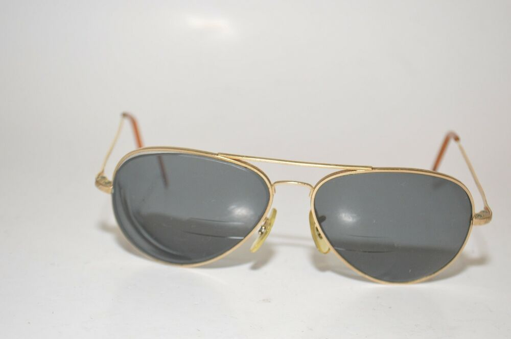 437282c5030 Details about Randolph Engineering USA Aviator Sunglasses Frames 23GP  61  15 5 1 2