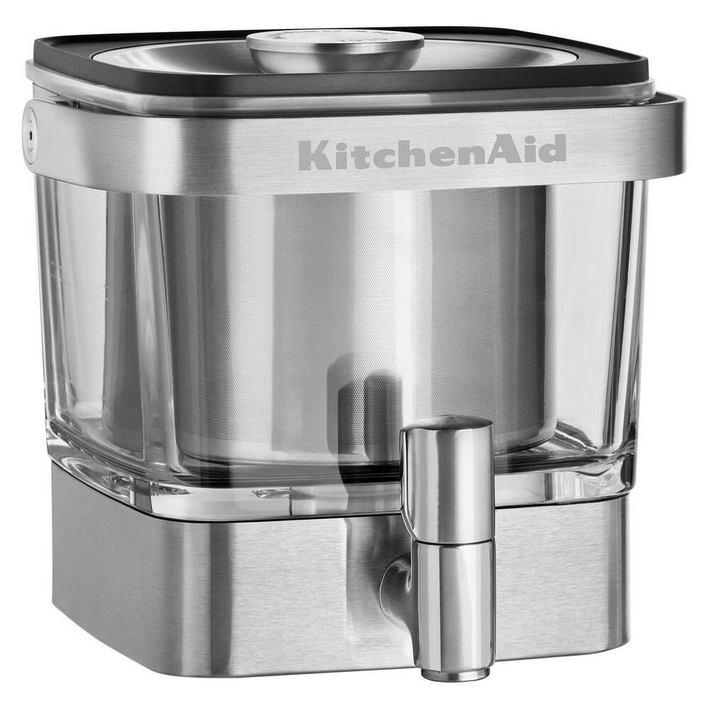 KitchenAid Cold Brew Iced Coffee Maker Stainless Steel Tap Dispenser on 1 cup coffee maker, personal coffee maker, viking coffee maker, bunn coffee maker, 12 cup coffee maker, 60 cup coffee maker, under cabinet coffee maker, cuisinart coffee maker, vacuum coffee maker, braun coffee maker, blue coffee maker, spacemaker coffee maker, farberware coffee maker, dual coffee maker, starbucks coffee maker, nespresso coffee maker, 4 cup coffee maker, 14 cup coffee maker, target red coffee maker, black & decker coffee maker,