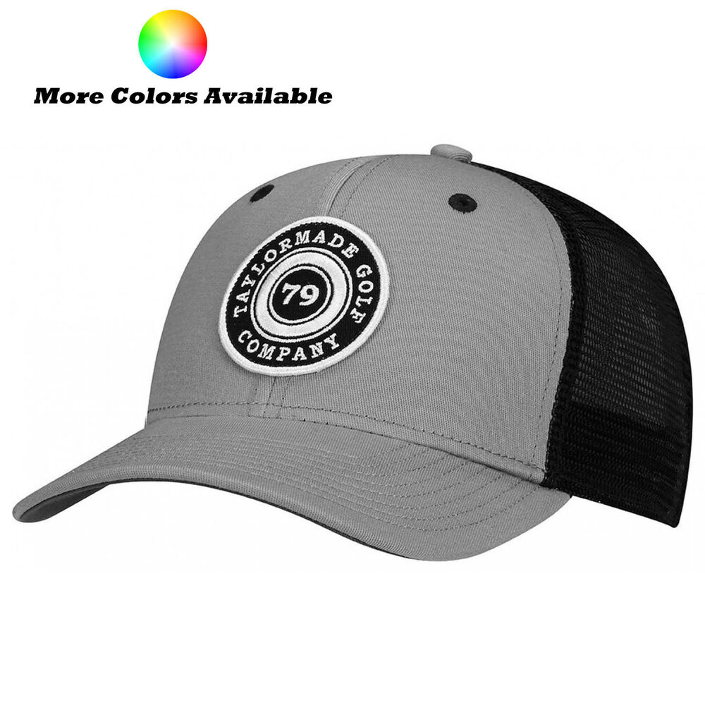 88e3d7ebcc768 Details about New TaylorMade Golf 2017 Lifestyle Trucker Adjustable Hat Cap
