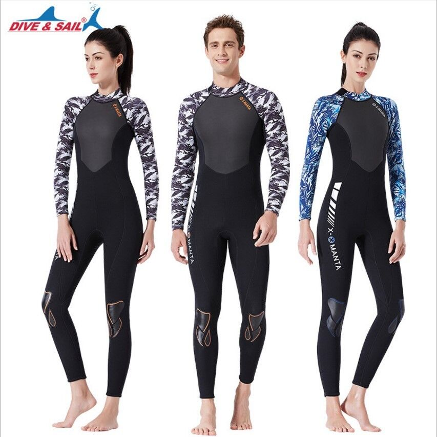 Details about 3mm neoprene diving suit camo cool water full wetsuits  Spearfishing Scuba diving 80f4bac5a