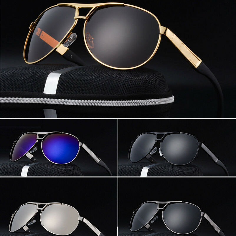 b9289258c4d Details about UV400 Men Polarized Sunglasses Driving Aviator Outdoor sport  Eyewear Glasses