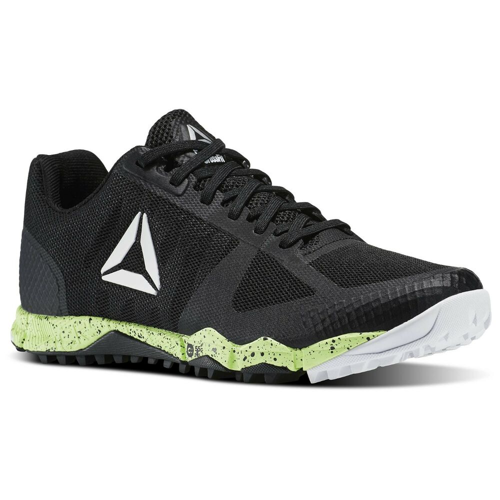 db4c6813126 Details about Mens Reebok CrossFit Speed Field 2.0 Black Electric Flash  White Size 9
