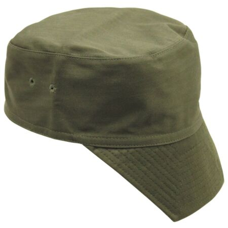 img-French Military Army / Foreign Legion Style Green Peaked Cap Combat Field Hat