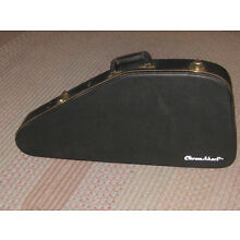 Chromaharp Autoharp Case HARD SHELL- FUR LINED with Key