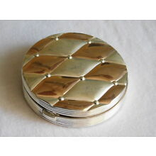 Evans Sterling Silver Compact