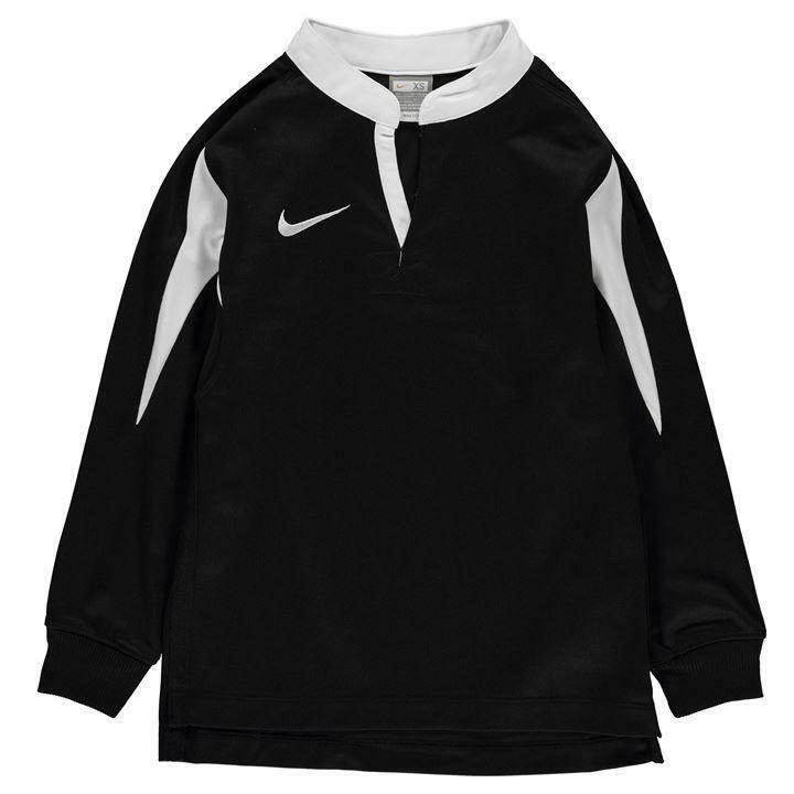 fdd92d634 Details about Nike Long Sleeve Team Jersey Junior Boys New (Sizes From 7-13  Yrs)