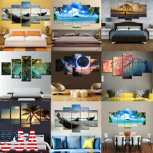 5-Panel Modern Canvas Home Wall Decor Art Painting Picture Print Unframed 39