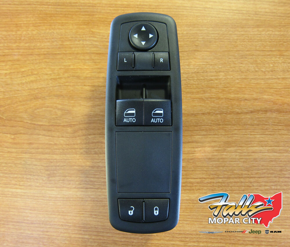Details About 2017 2019 Dodge Ram 1500 3500 1touch Driver Door Switch New Mopar Oem