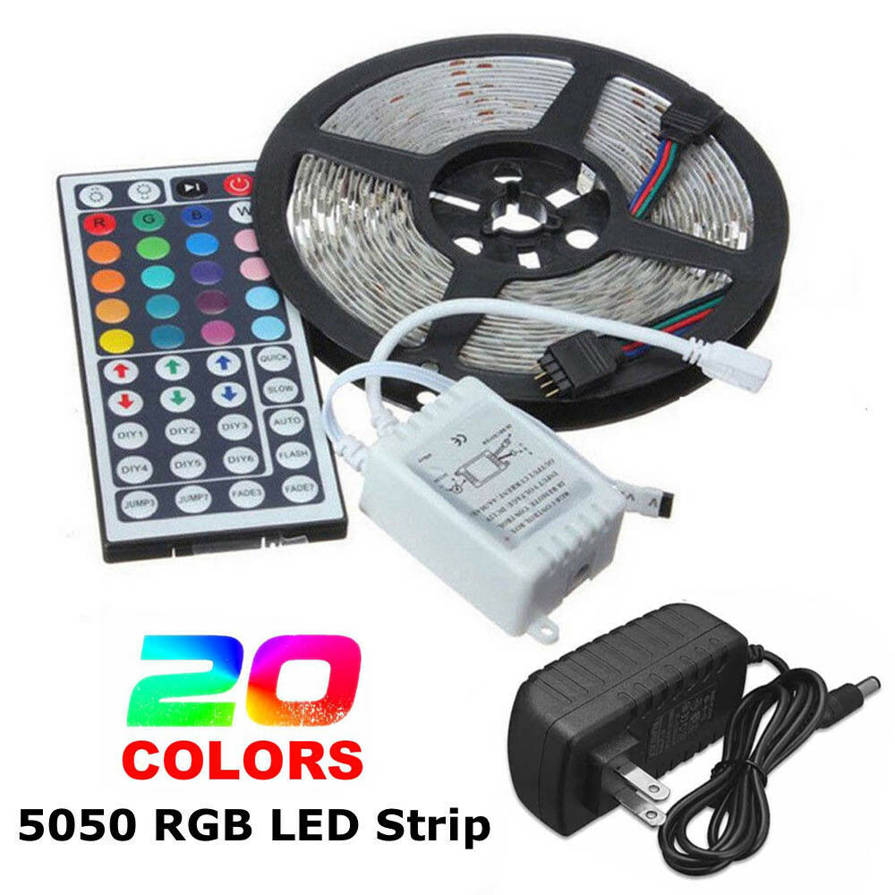 5050 RGB LED Strip Light Colour Changing Tape Under