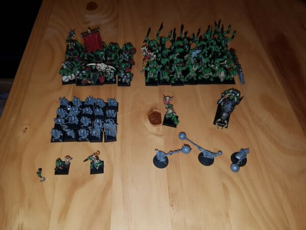 Warhammer Fantasy/age Of Sigmar Orc And Goblin Army