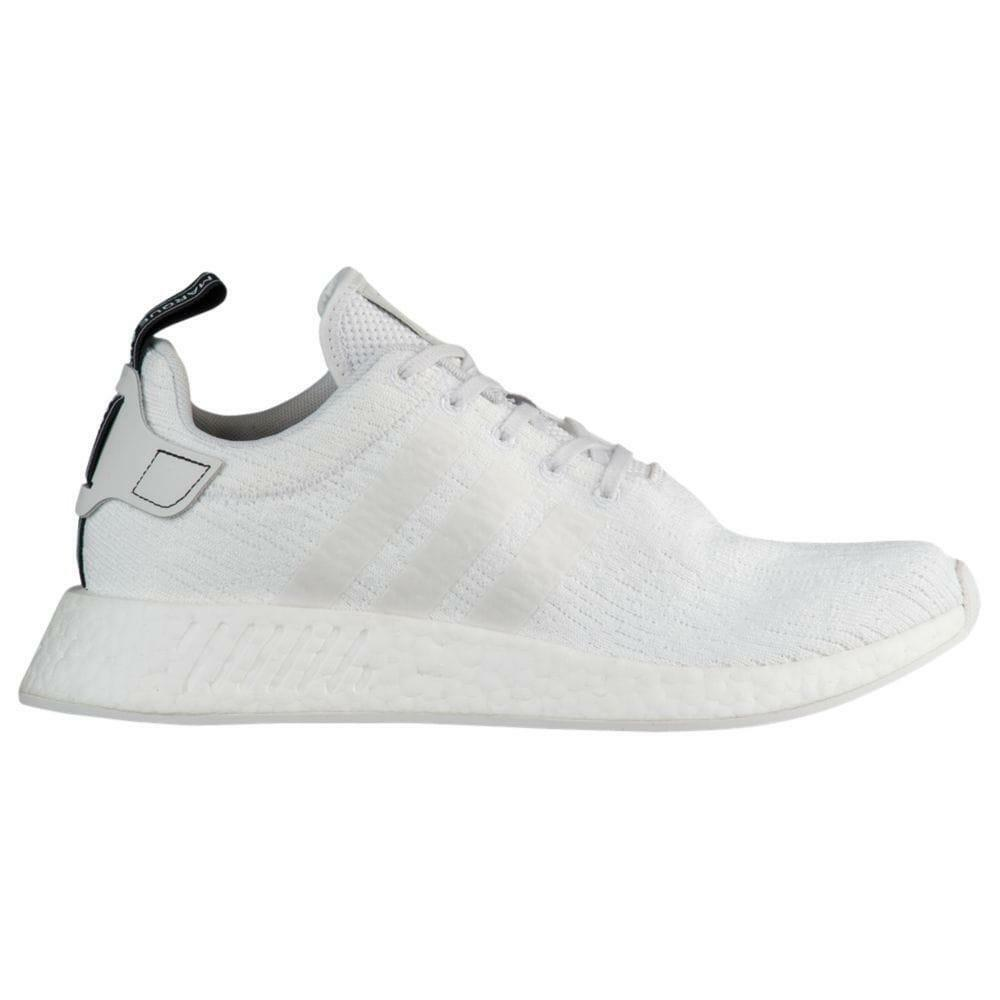 346f1e27647d Details about Mens ADIDAS NMD R2 White Running Trainers BY9914