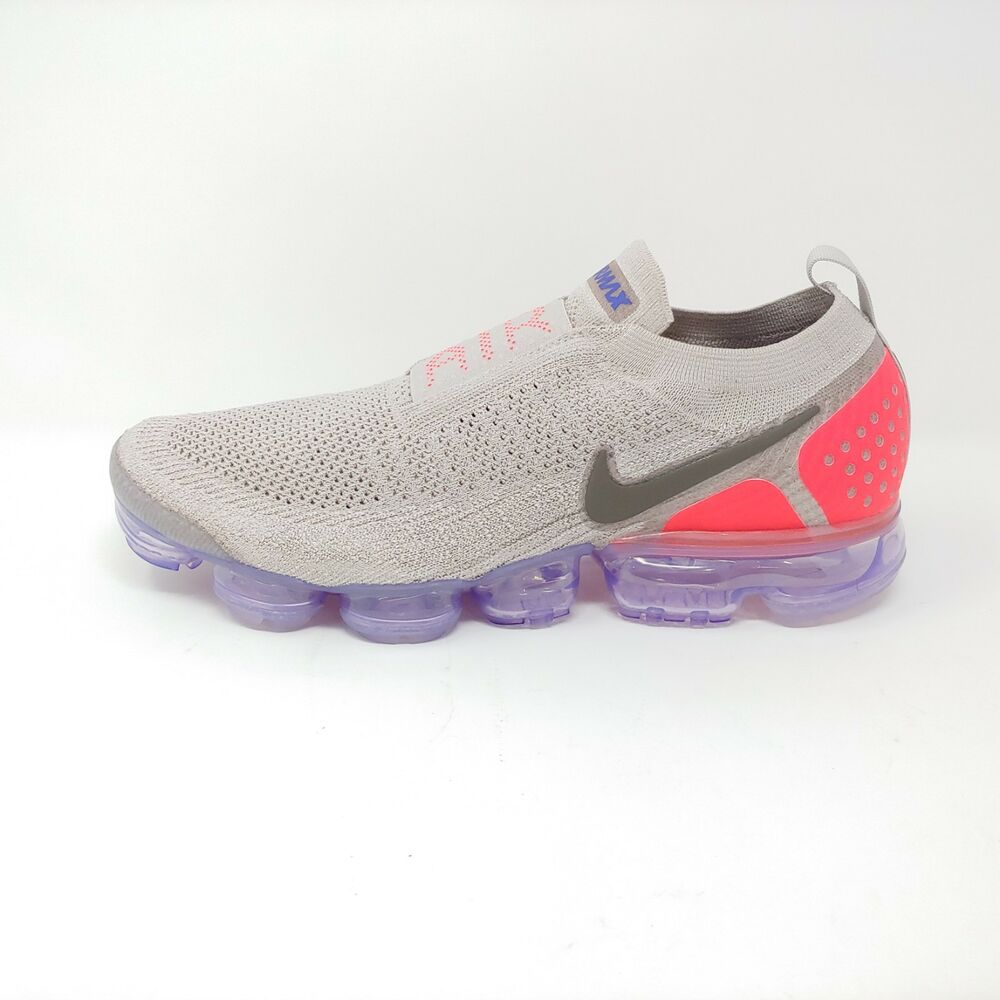 8d5bd6846b8b0 Details about Nike Air Vapormax Flyknit Moc 2 Moon Particle Solar Red  Sneaker FK Men Size 12.5