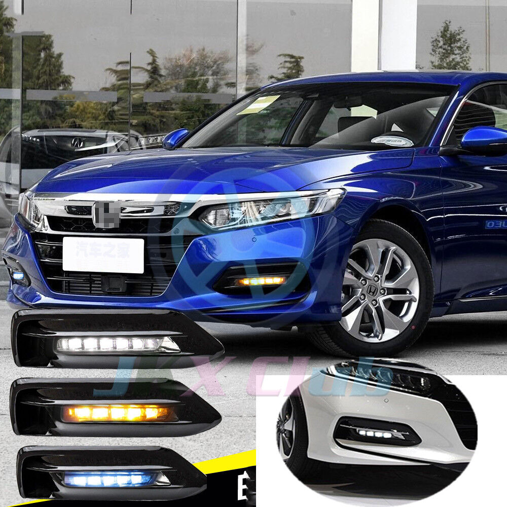 For Honda Accord 2018-2019 LED Daytime Running Lamp Fog