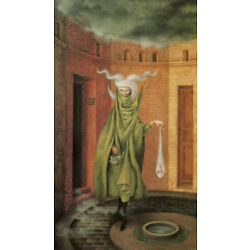Kyпить Woman Leaving the Psychoanalyst by Remedios Varo   Giclee Canvas Print Repro на еВаy.соm