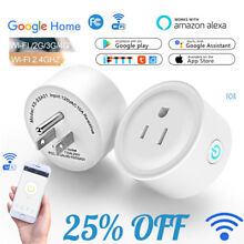 WiFi Smart Plug Remote Control Outlet with Alexa & Google Home & IFTTT USA