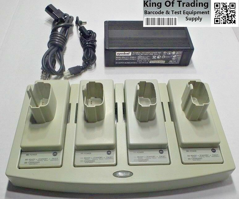 Motorola UBC2000 4 Slot Battery Charger Kit with 90 Day Warranty