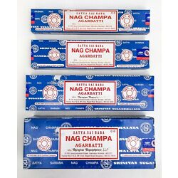 Kyпить Satya Nag Champa Incense Sticks Blue Box Pick 15 40 100 250 gms - Fresh Stock !! на еВаy.соm
