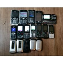 AT&T Straight Talk Tracfone GSM Prepaid camera phone LOT Working