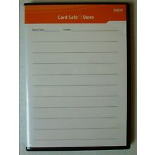 GEPE CARD SAFE STORE. New. Holds 6 cards.
