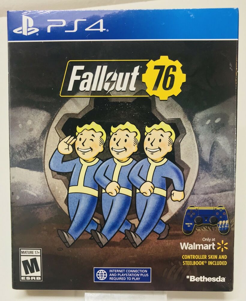 BRAND NEW Fallout 76 - PlayStation 4 (PS4) 2018 STEELBOOK FAST SHIPPING! |  eBay