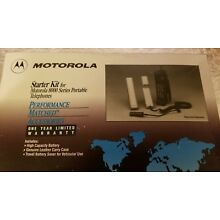 Motorola 8000 Series Portable Telephone Starter Kit   ** NIB ** Battery included