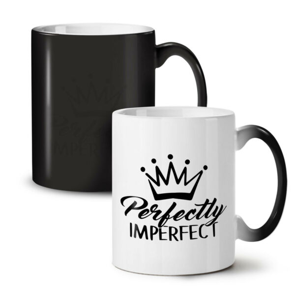 Royaume-Uni Imperfect NEW Colour Changing Tea Coffee Mug 11 oz | Wellcoda