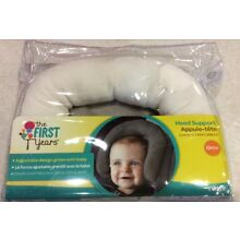 TOMY The First Years Head Support for Baby Infant 0+ Months White NEW